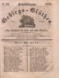 Schlesische Gebirgs-Blüthen, 1837, Jg. 3, No 51