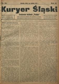 Kuryer Śląski, 1908, R. 2, nr 76