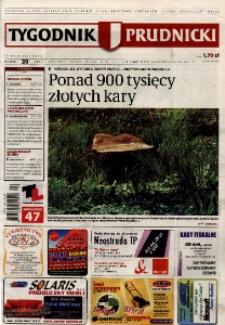 Tygodnik Prudnicki : prywatna gazeta lokalna gmin : Prudnik, Biała, Głogówek, Korfantów, Lubrza, Strzeleczki, Walce. R. 17, nr 20 (854).