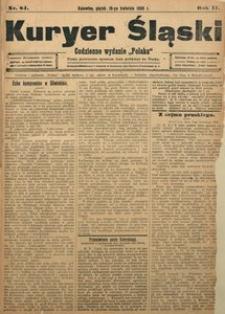 Kuryer Śląski, 1908, R. 2, nr 84