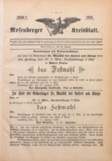 Rosenberger Kreisblatt, 1899, St. 2