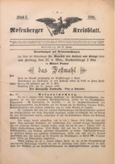 Rosenberger Kreisblatt, 1899, St. 3