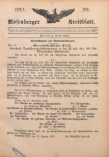 Rosenberger Kreisblatt, 1900, St. 4