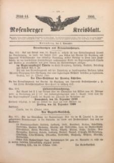 Rosenberger Kreisblatt, 1900, St. 44