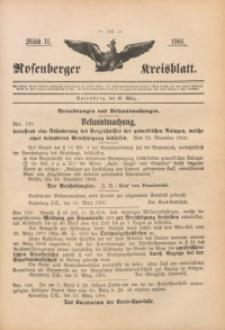 Rosenberger Kreisblatt, 1901, St. 11