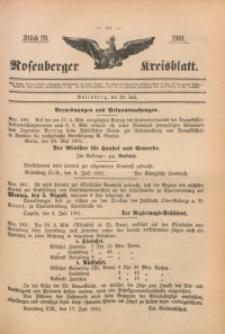 Rosenberger Kreisblatt, 1901, St. 29