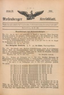Rosenberger Kreisblatt, 1901, St. 30