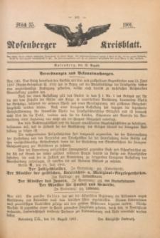 Rosenberger Kreisblatt, 1901, St. 35