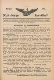 Rosenberger Kreisblatt, 1901, St. 36