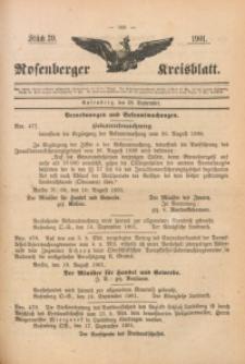 Rosenberger Kreisblatt, 1901, St. 39
