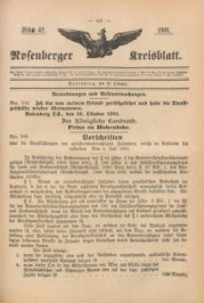 Rosenberger Kreisblatt, 1901, St. 42