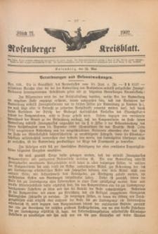 Rosenberger Kreisblatt, 1902, St. 21