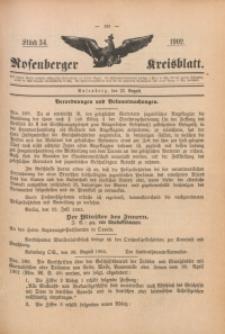 Rosenberger Kreisblatt, 1902, St. 34
