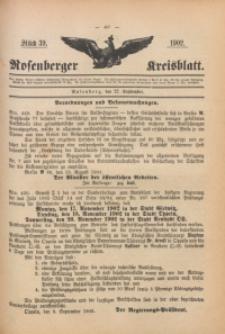 Rosenberger Kreisblatt, 1902, St. 39