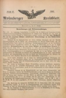 Rosenberger Kreisblatt, 1902, St. 41