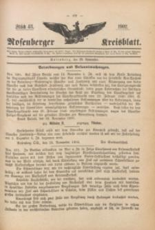 Rosenberger Kreisblatt, 1902, St. 48