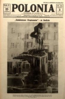 Polonia, 1929, R. 6, nr 33 [ilustracje]