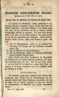 Schlesische Landwirthschaftliche Vereinsschrift, 1859, Jg. 6, [H. 5]