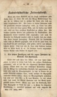 Schlesische Landwirthschaftliche Vereinsschrift, 1860, Jg. 7, [H. 2]