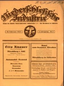 Niederschlesische Industrie, 1927, Jg. 3, Nr. 3