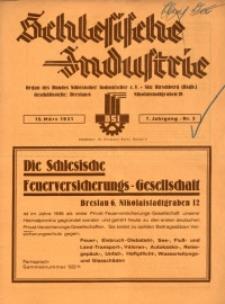 Schlesische Industrie, 1931, Jg. 7, Nr. 3
