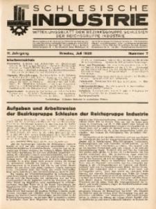 Schlesische Industrie, 1935, Jg. 11, Nr. 7