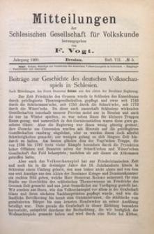 Mitteilungen der Schlesischen Gesellschaft für Volkskunde, 1900/1901, Bd. 4, H. 7, No 5
