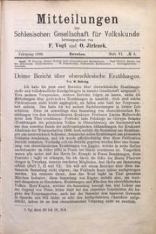 Mitteilungen der Schlesischen Gesellschaft für Volkskunde, 1898/1899, Bd. 3, H. 6, No 3