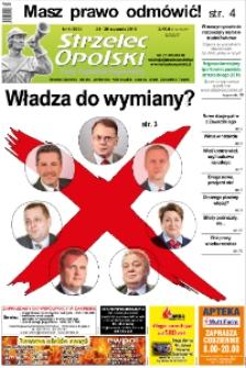 Strzelec Opolski : twój tygodnik regionalny : Strzelce Opolskie, Izbicko, Jemielnica, Kolonowskie, Leśnica, Ujazd, Zawadzkie, Toszek 2017, nr 4 (908).