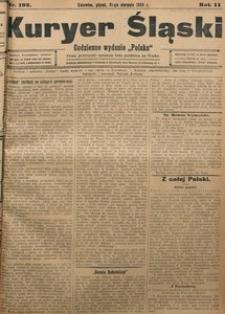 Kuryer Śląski, 1908, R. 2, nr 192