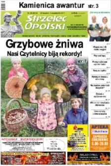 Strzelec Opolski : twój tygodnik regionalny : Strzelce Opolskie, Izbicko, Jemielnica, Kolonowskie, Leśnica, Ujazd, Zawadzkie, Toszek 2017, nr 39 (943).