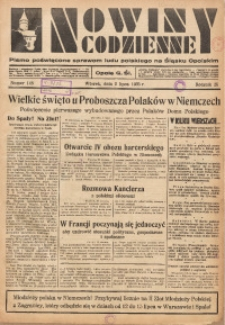 Nowiny Codzienne, 1935, R. 25, nr 148