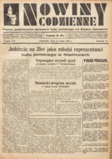 Nowiny Codzienne, 1935, R. 25, nr 156