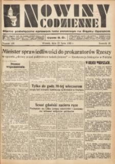 Nowiny Codzienne, 1935, R. 25, nr 166