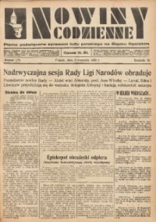 Nowiny Codzienne, 1935, R. 25, nr 175