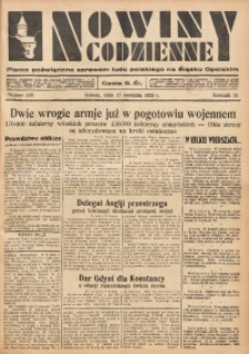 Nowiny Codzienne, 1935, R. 25, nr 188
