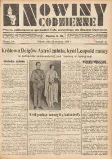Nowiny Codzienne, 1935, R. 25, nr 200