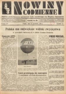 Nowiny Codzienne, 1935, R. 25, nr 217