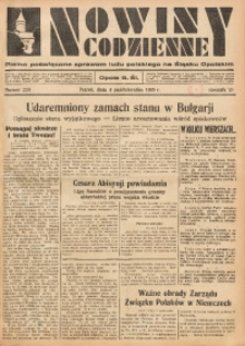 Nowiny Codzienne, 1935, R. 25, nr 229