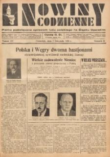 Nowiny Codzienne, 1935, R. 25, nr 257
