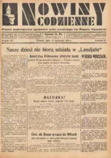 Nowiny Codzienne, 1935, R. 25, nr 267