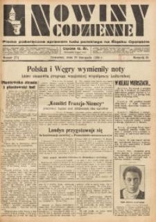 Nowiny Codzienne, 1935, R. 25, nr 274
