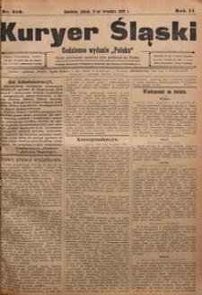 Kuryer Śląski, 1908, R. 2, nr 210