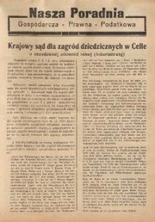 Nasza Poradnia, 1935, R. 2, nr 6