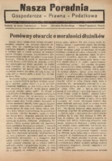 Nasza Poradnia, 1935, R. 2, nr 11