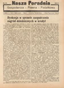Nasza Poradnia, 1935, R. 2, nr 25