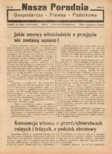 Nasza Poradnia, 1935, R. 2, nr 31