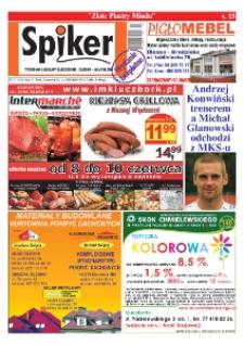 Spiker : tygodnik lokalny Kluczbork - Olesno - Namysłów. R. 6, nr 7 (84).