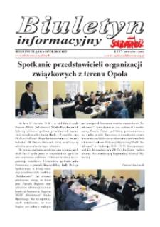 """Biuletyn Informacyjny """"Solidarność"""" 2018, nr 2 (405)."""