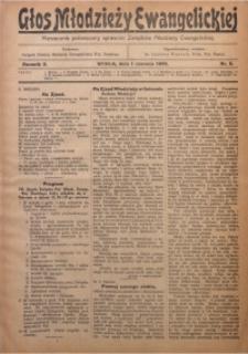 Głos Młodzieży Ewangelickiej, 1933, R. 2, Nr. 5